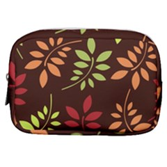 Leaves Foliage Pattern Design Make Up Pouch (small)