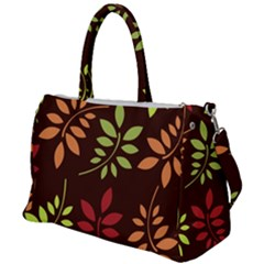 Leaves Foliage Pattern Design Duffel Travel Bag