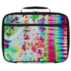 Pattern Decorated Schoolbus Tie Dye Full Print Lunch Bag by Jojostore