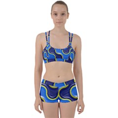 Pattern Curve Design Seamless Perfect Fit Gym Set by Sapixe