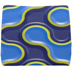 Pattern Curve Design Seamless Seat Cushion