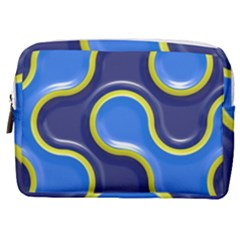 Pattern Curve Design Seamless Make Up Pouch (medium)
