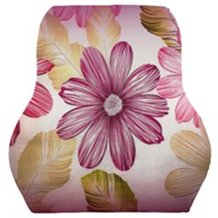 Print Fabric Pattern Texture Car Seat Back Cushion  by Sapixe