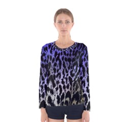 Fabric Animal Motifs Women s Long Sleeve Tee by Jojostore
