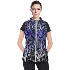 Fabric Animal Motifs Women s Puffer Vest by Jojostore