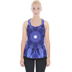 Tech Neon And Glow Backgrounds Psychedelic Art Piece Up Tank Top