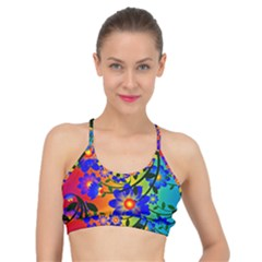 Abstract Background Backdrop Design Basic Training Sports Bra