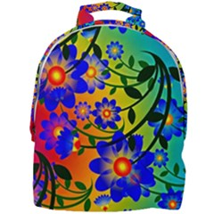 Abstract Background Backdrop Design Mini Full Print Backpack by Jojostore