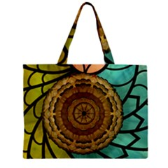 Kaleidoscope Dream Illusion Zipper Mini Tote Bag