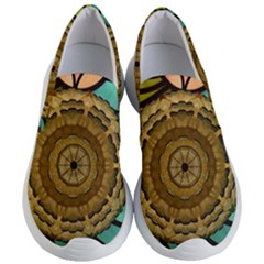 Kaleidoscope Dream Illusion Women s Lightweight Slip Ons by Jojostore