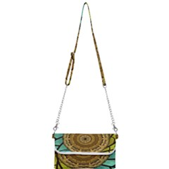 Kaleidoscope Dream Illusion Mini Crossbody Handbag by Jojostore