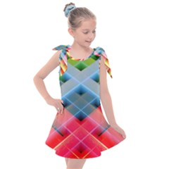 Graphics Colorful Colors Wallpaper Graphic Design Kids  Tie Up Tunic Dress