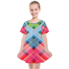 Graphics Colorful Colors Wallpaper Graphic Design Kids  Smock Dress