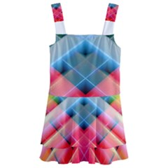 Graphics Colorful Colors Wallpaper Graphic Design Kids  Layered Skirt Swimsuit