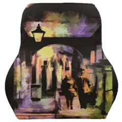 Street Colorful Abstract People Car Seat Back Cushion  by Jojostore