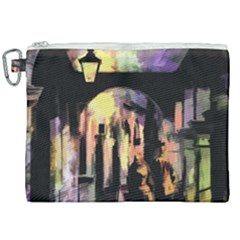 Street Colorful Abstract People Canvas Cosmetic Bag (xxl) by Jojostore
