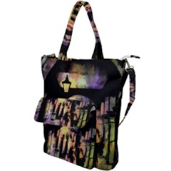 Street Colorful Abstract People Shoulder Tote Bag