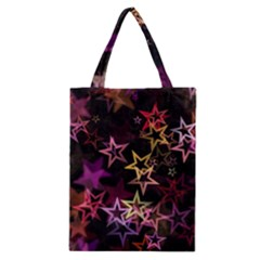 Stars Background Pattern Seamless Classic Tote Bag