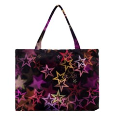 Stars Background Pattern Seamless Medium Tote Bag by Sapixe