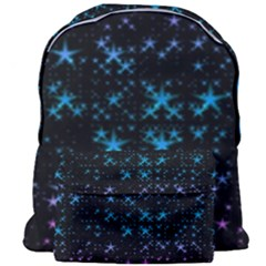 Stars Pattern Seamless Design Giant Full Print Backpack by Sapixe