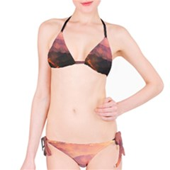 Volcanoes Magma Lava Mountains Classic Bikini Set
