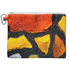 Colorful Glass Mosaic Art And Abstract Wall Background Canvas Cosmetic Bag (xxl) by Jojostore