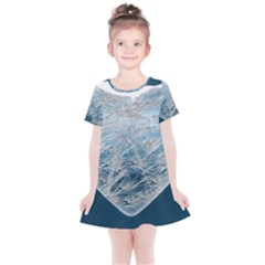 Frozen Heart Kids  Simple Cotton Dress