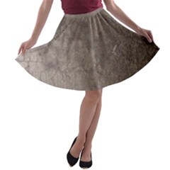 Wordsworth Grey Mix A Line Skater Skirt