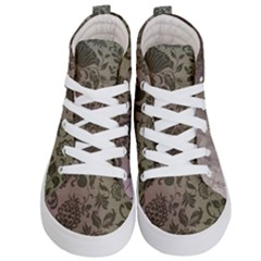 Wordsworth Grey Mix 2 Kid s Hi Top Skate Sneakers