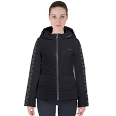 Hest Sort 71 Women s Hooded Puffer Jacket by PARNUNA
