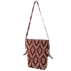Chorley Weave Brown Folding Shoulder Bag