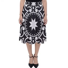 Table Pull Out Computer Graphics Classic Midi Skirt