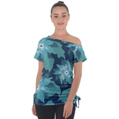 Graphic Design Wallpaper Abstract Tie Up Tee by Sapixe