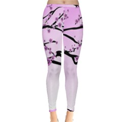 Essential Oils Flowers Nature Plant Inside Out Leggings