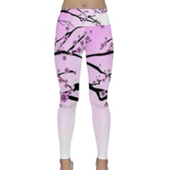 Essential Oils Flowers Nature Plant Lightweight Velour Classic Yoga Leggings