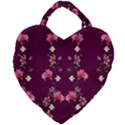 New Motif Design Textile New Design Giant Heart Shaped Tote View1