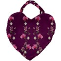 New Motif Design Textile New Design Giant Heart Shaped Tote View2