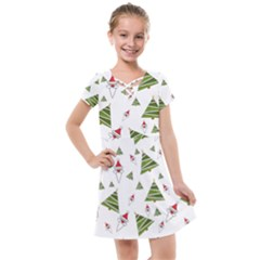 Christmas Kids  Cross Web Dress