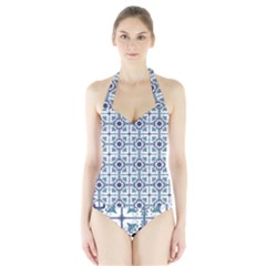 Precious Glamorous Creative Clever Halter Swimsuit