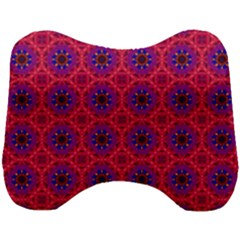 Retro Abstract Boho Unique Head Support Cushion