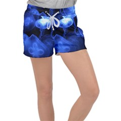 Jellyfish Sea Diving Sea Animal Women s Velour Lounge Shorts