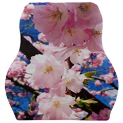 Flower Cherry Wood Tree Flowers Car Seat Velour Cushion  by Sapixe