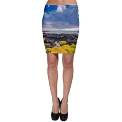 Iceland Nature Mountains Landscape Bodycon Skirt