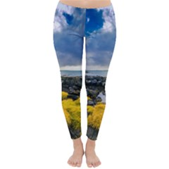 Iceland Nature Mountains Landscape Classic Winter Leggings