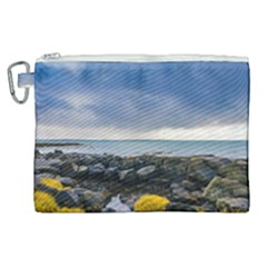 Iceland Nature Mountains Landscape Canvas Cosmetic Bag (xl) by Sapixe