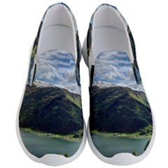 Panoramic Nature Mountain Water Men s Lightweight Slip Ons by Sapixe
