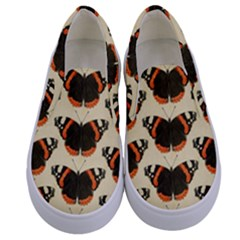 Butterfly Butterflies Insects Kids  Canvas Slip Ons