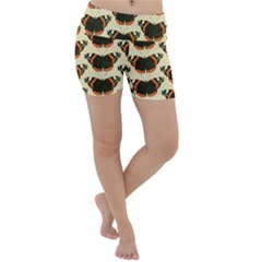 Butterfly Butterflies Insects Lightweight Velour Yoga Shorts