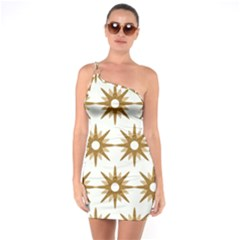 Seamless Repeating Tiling Tileable One Soulder Bodycon Dress