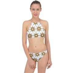 Seamless Repeating Tiling Tileable Racer Front Bikini Set by Jojostore